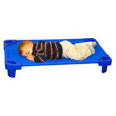 Fully Assembled Single Toddler Stackable Kiddie Cot - 40