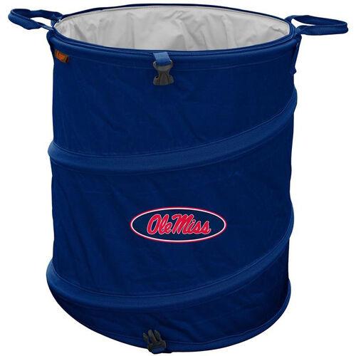 University of Mississippi Team Logo Collapsible 3-in-1 Cooler Hamper Wastebasket