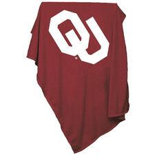 University of Oklahoma Team Logo Sweatshirt Blanket