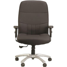 Excelsior350 High Back Executive Chair with Maximum 350 Lbs Weight Capacity - Black