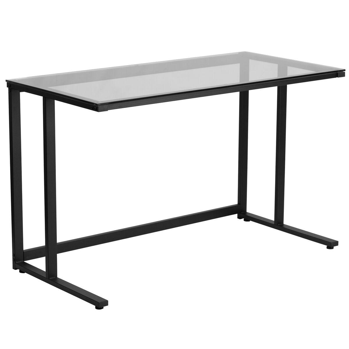 Glass Top Desk NAN-WK-055-GG | Bizchair.com