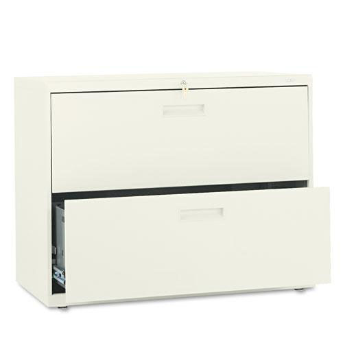 Our HON® 500 Series Two-Drawer Lateral File - 36w x 19-1/4d x 28-3/8h - Putty is on sale now.