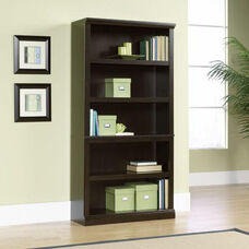 Select Collection 69.75''H Bookcase with Adjustable Shelves - Jamocha