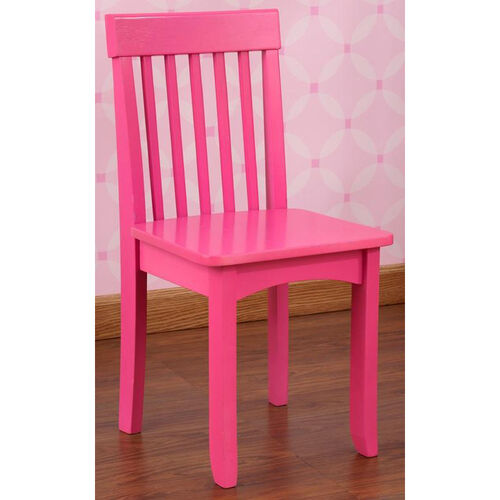 Avalon Classic Style Solid Wood Kids Chair - Raspberry