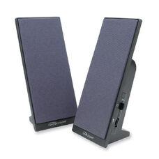 Compucessory Flat Panel Full Range Speaker Set - Pack Of 2