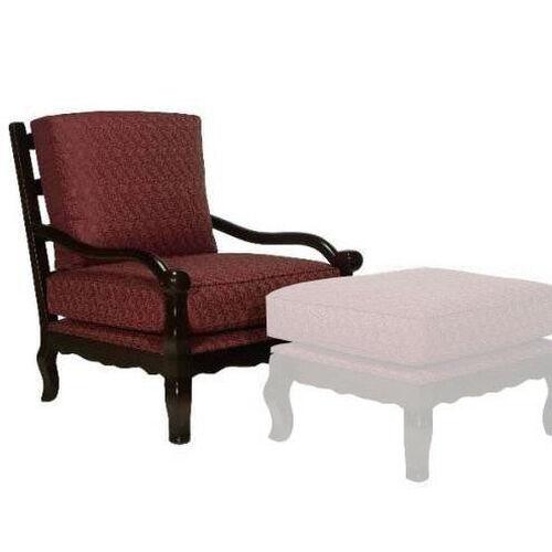 1766 Lounge Chair w/ Loose Cushion & Tie - Grade 1