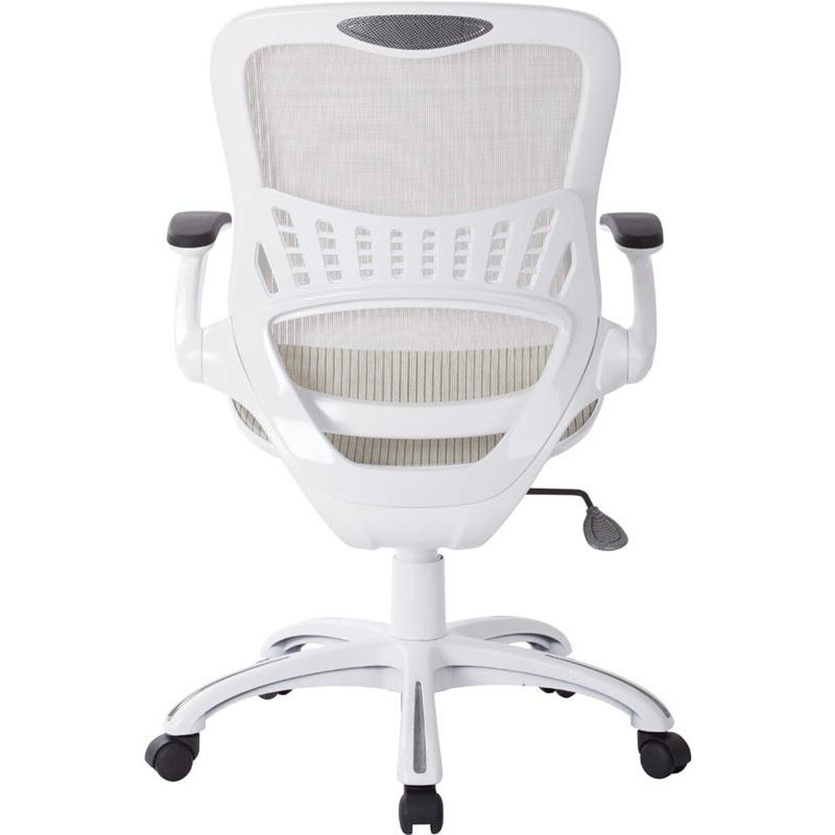 Our Ave Six Riley Mesh Office Chair White Is On Now