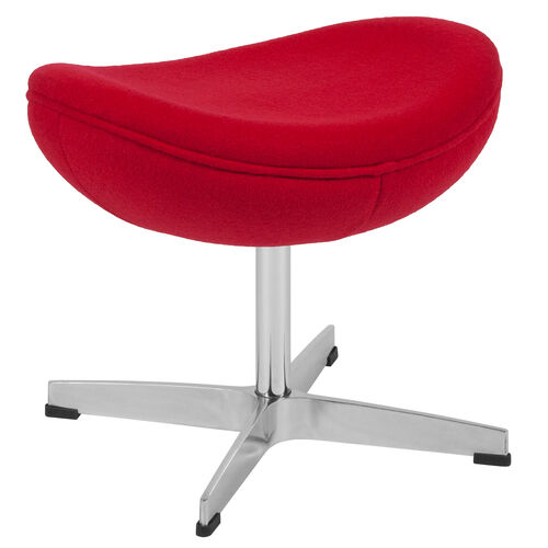 Our Red Wool Fabric Ottoman is on sale now.