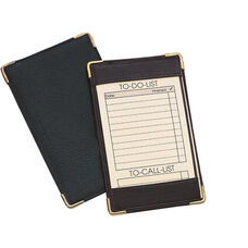 Pocket Jotter - Top Grain Nappa Leather - Black