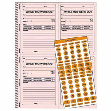 Rediform Alert Labels Wywo Telephone Message Book