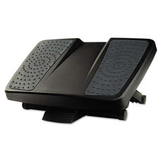 Fellowes® Ultimate Foot Support - HPS - 17 3/4w x 13 1/4d x 6 1/2h - Black/Gray