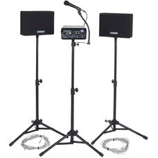 Voice Carrier with Wired Speakers and Wired Microphone - 30