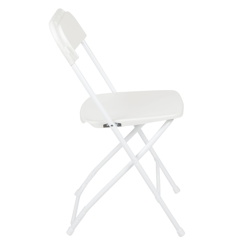 Capacity Premium White Plastic Folding Chair Is On Sale Now ...