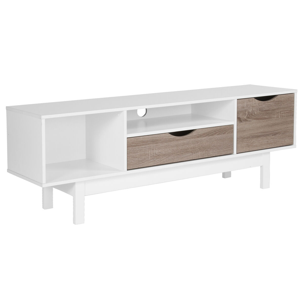 White Tv Stand With Drawers Ev Et 3115 04 W Gg Bizchair Com