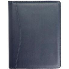Writing Padfolio Document Organizer - Sedona New Bonded Leather - Blue