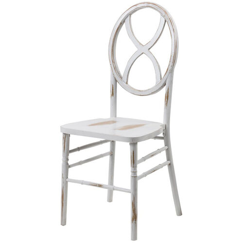Our Veronique Series Stackable Sand Glass Wood Dining Chair - Lime White Wash is on sale now.