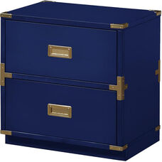 OSP Designs Wellington 2 Cabinet - Lapis Blue