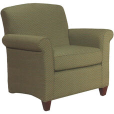 7750 Upholstered Lounge Chair w/ Loose Cushion - Grade 1