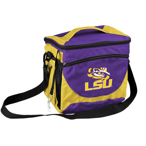 Our Louisiana State University Team Logo 24 Can Cooler is on sale now.
