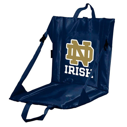 Our University of Notre Dame Team Logo Bi-Fold Stadium Seat is on sale now.