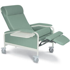 XL Clinical Recliner with Nylon Casters