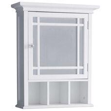 Neal Medicine Cabinet - White