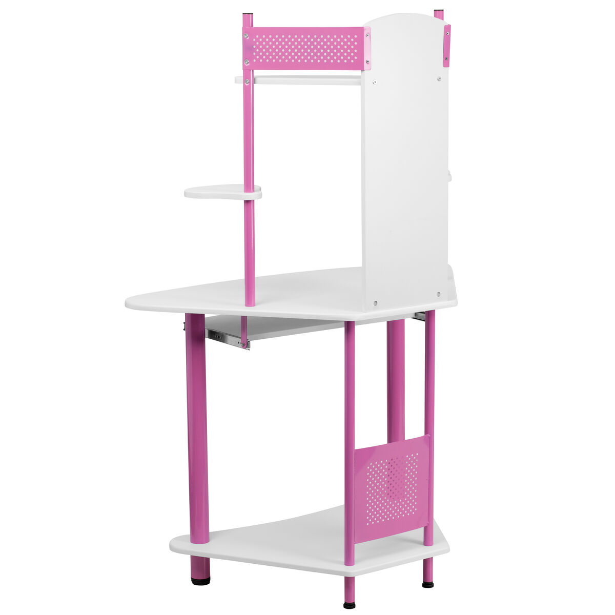 Our Pink Corner Computer Desk With Hutch Is On Now