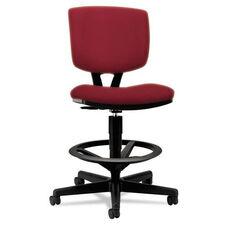 HON® Volt Series Adjustable Task Stool - Crimson Fabric