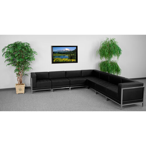 Our HERCULES Imagination Series Black LeatherSoft Sectional Configuration, 7 Pieces is on sale now.