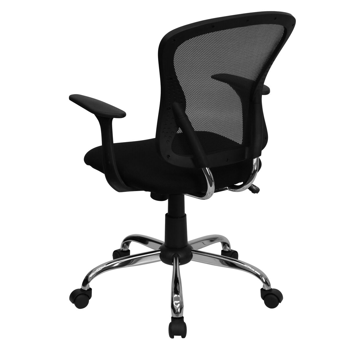 black mid back task chair h 8369f blk gg bizchair com