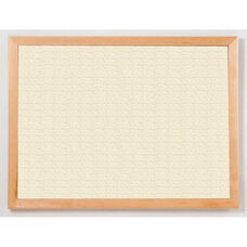 213 Series Tackboard with Angle Wood Face Frame - Fabricork - 48