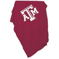 Texas A&M University Team Logo Sweatshirt Blanket