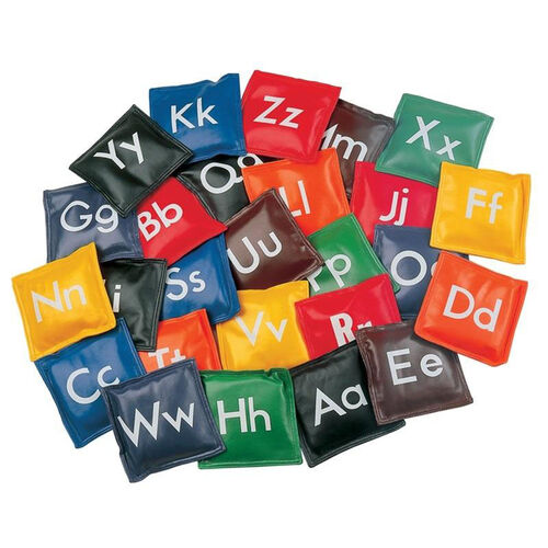 Our Alphabet Bean Bags is on sale now.