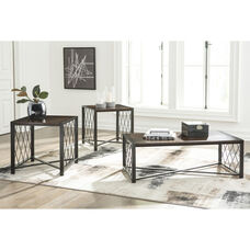 Signature Design by Ashley Harpan 3 Piece Occasional Table Set