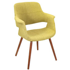 Vintage Flair Chair in Green