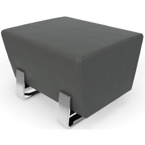 Our Axis Series Single Bench - Slate with Chrome Frame is on sale now.