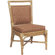 7556 Rattan Side Chair with Reversible Cushion - Grade 1