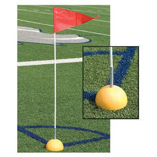 Hollow Base Corner Flags - Set of 4