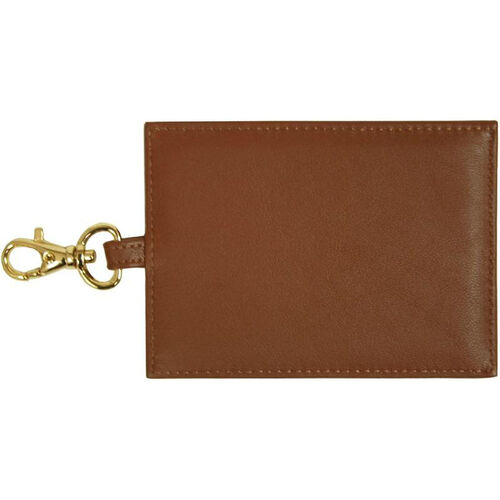 Our Luxury Big Luggage Tag - Top Grain Nappa Leather - Tan is on sale now.