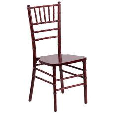 "HERCULES Series Mahogany Wood Chiavari Chair with <span style=""color:#0000CD;"">Free </span> Cushion"