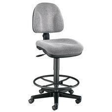 Premo Drafting Height Adjustable Ergonomic Chair - Gray