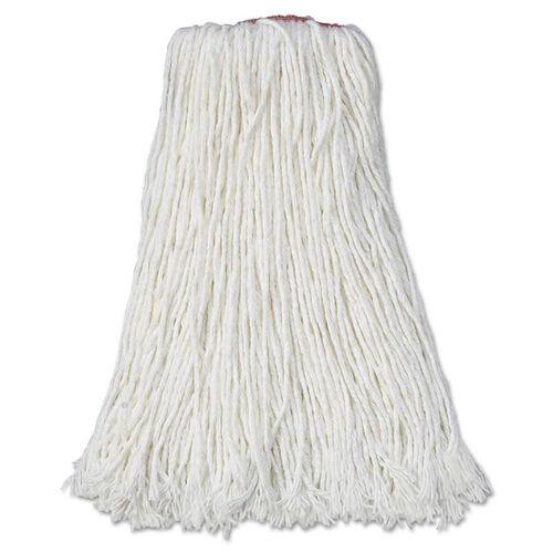 Our Rubbermaid® Commercial Premium Cut-End Rayon Mop Head - 24oz - White - 1