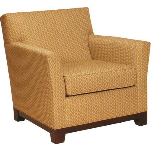 Our 1351 Upholstered Lounge Chair w/ Wood Platform Base - Grade 1 is on sale now.