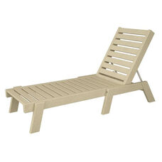 POLYWOOD® Captain Collection Chaise Lounge - Sand