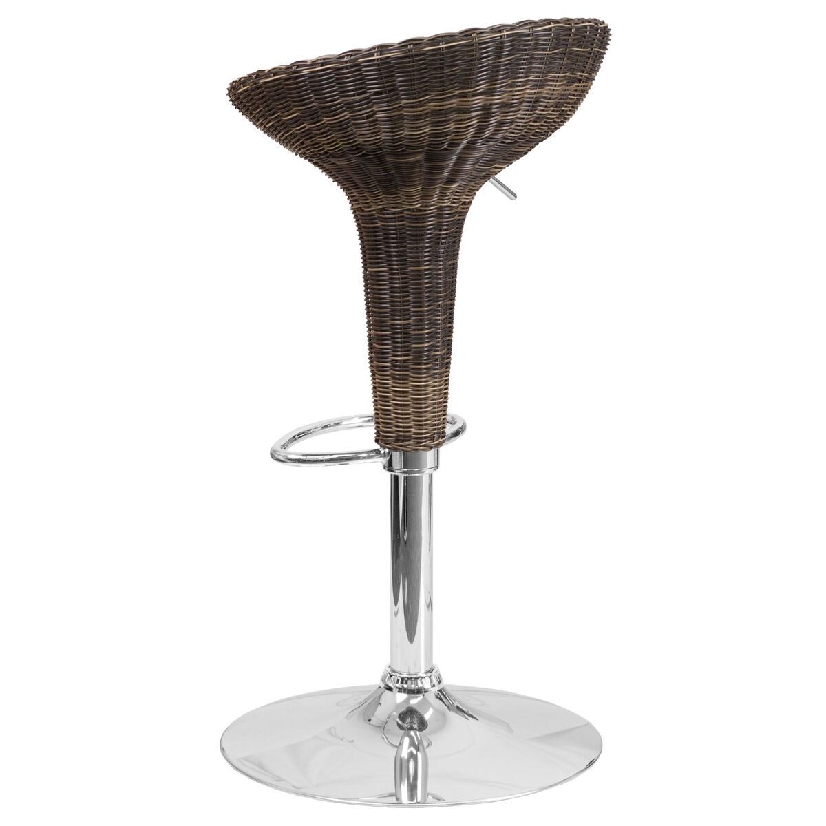 Flash Furniture Contemporary Wicker Adjustable Height