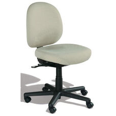 Triton Large Back Desk Height Cleanroom Chair with 350 lb. Capacity - 4 Way Control