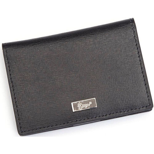 Our RFID Blocking Coin and Credit Card Case Wallet - Saffiano Genuine Leather - Black is on sale now.
