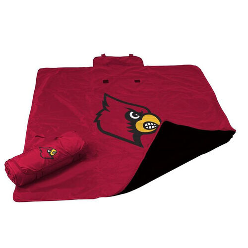 Our University of Louisville Team Logo All Weather Blanket is on sale now.