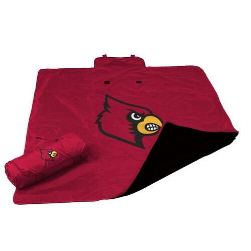 University of Louisville Team Logo All Weather Blanket