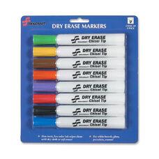 Skilcraft Dry-Erase 8-Color Marker Set - Pack Of 8